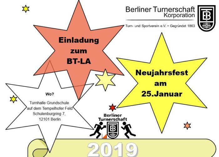 Neujahrsfest am 25.1.2019