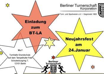Einladung zum BTLA-Neujahrsfest am 24.01.2020